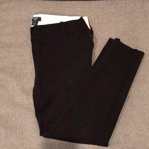 JCREW City Fit Stretch Pants - Sz 2 - Black